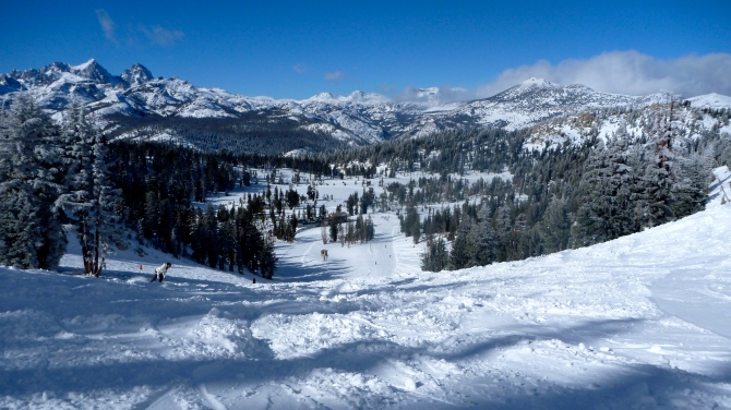 California Mammoth-mountain