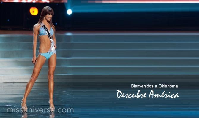 034 Miss Oklahoma LAUREN LUNDEEN Banner