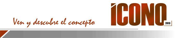 ICONO  Descubre 2013