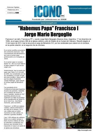 003 13 03 2013 Habemus Papa