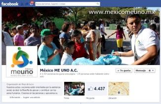 Mexico me uno FACEBOOK