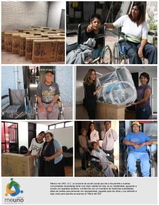 Mexico me uno Programa de Sillas de Ruedas