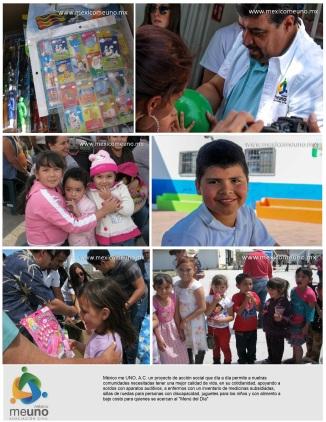 Mexico me uno Programa Níños Felices