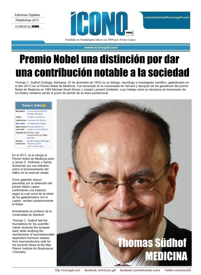 011 12 2013 LOS NOBEL 3 Thomas Shüdhof