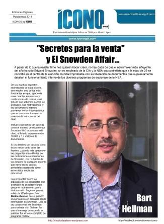 01 17 2014 Journalist La conexión Greenwald-Omidyar-NSA