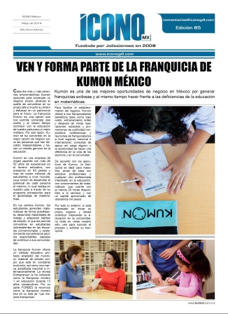 Franquicia Kumon para México