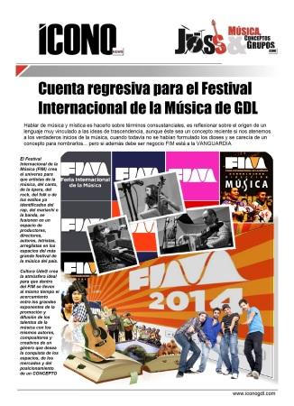 Feria Internacional de la Música FIM GDL 2014