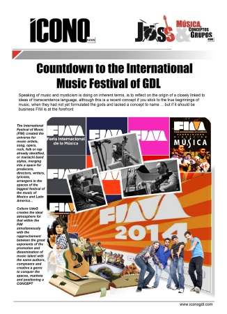 Welcome to FIM GDL 2014