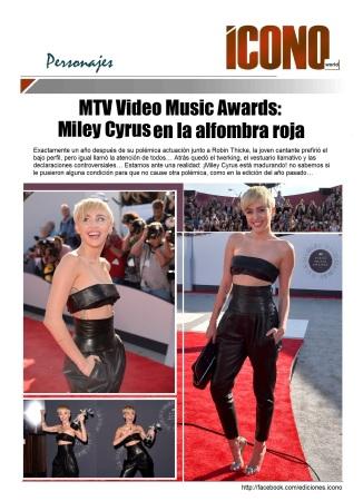 08 24 2014 MTV Miley Cyrus