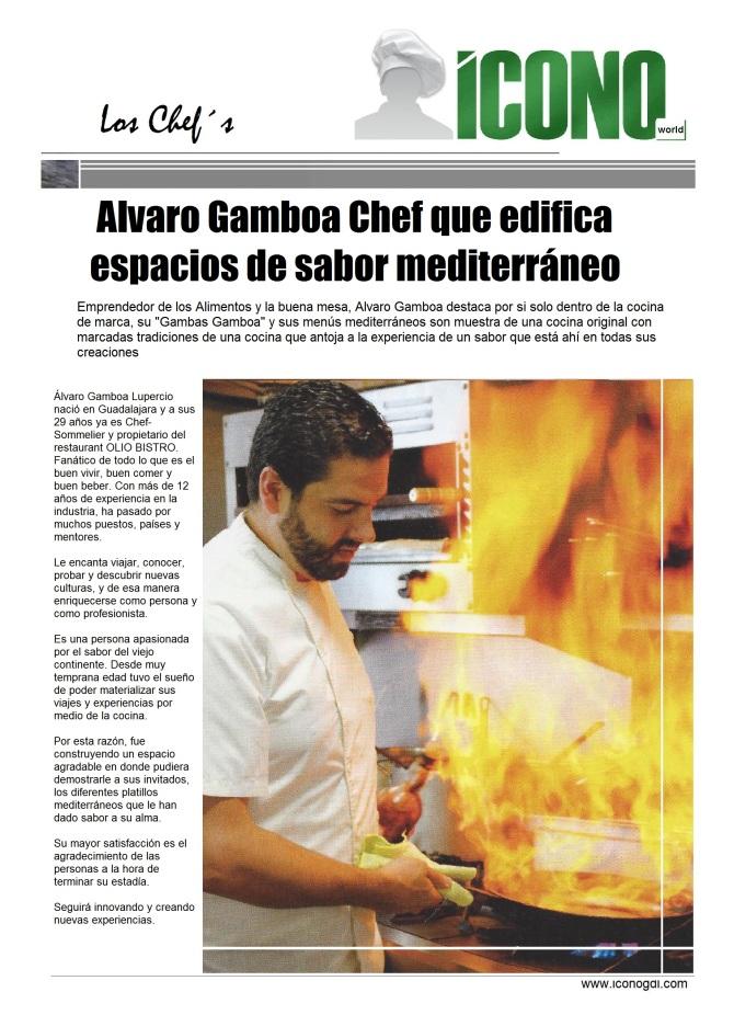 Chef Alvaro Gamboa