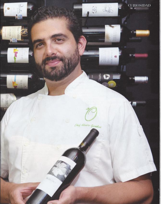 Chef Alvaro Gaboa (Imagenes de Publímetro)