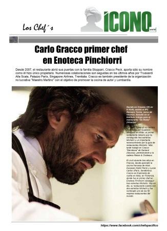 Chef Carlo Gracco