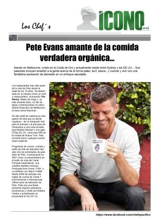 Chef Pete Evans