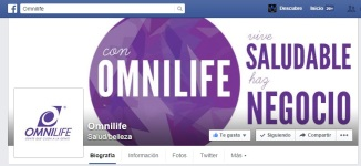 Omnilife facebook