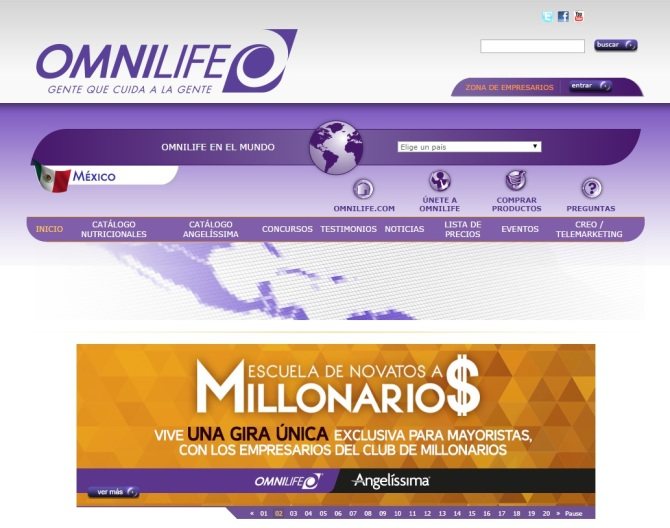 Omnilife Website