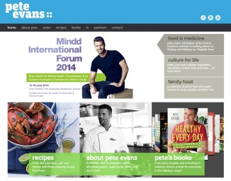 Pete Evans website