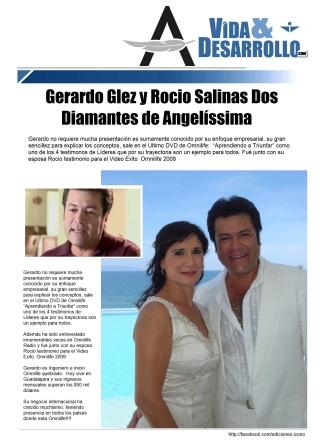 Gerardo Glez y Rocio Salinas