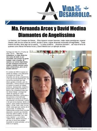 Ma. Fernanda Arcos Muñoz y David Medina Morales