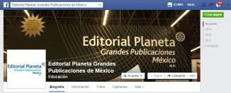 Banner Editorial Planeta Face