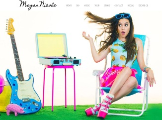 10 voces MEGAN NICOLE website