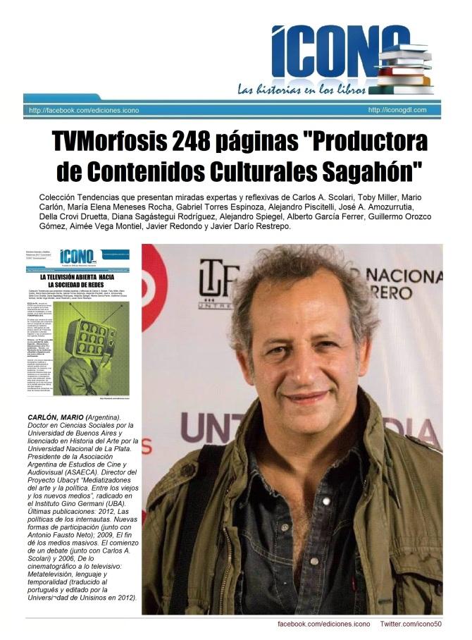 Ecos de FIL Mario Carlón