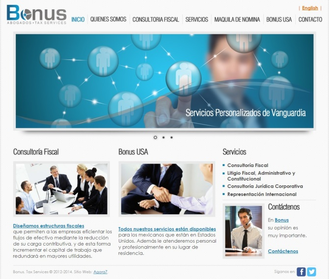 Bonus Website