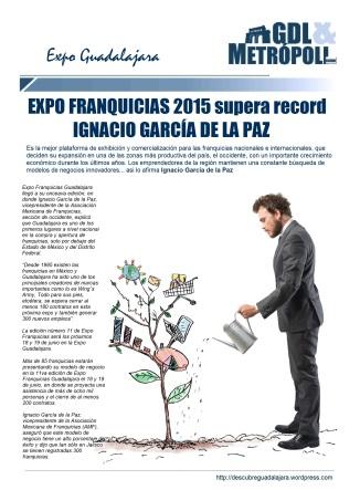 ExpoFranquicias 2015 en nuestro BLOG