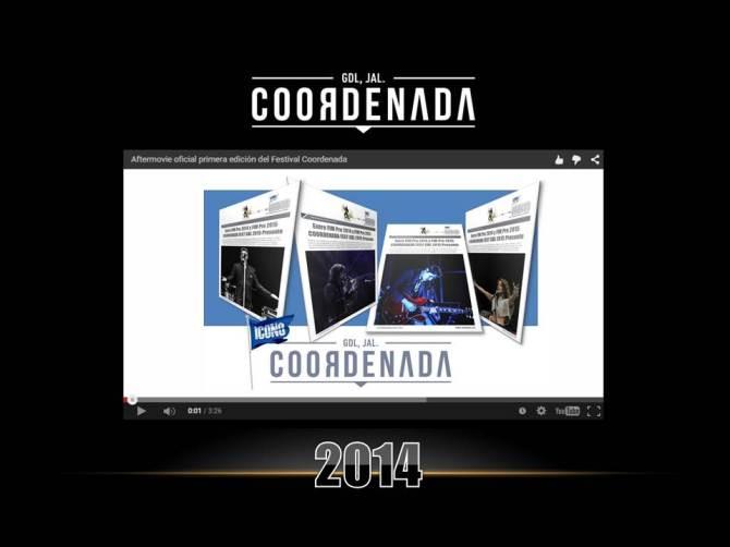 COORDENADA FEST 2014 video