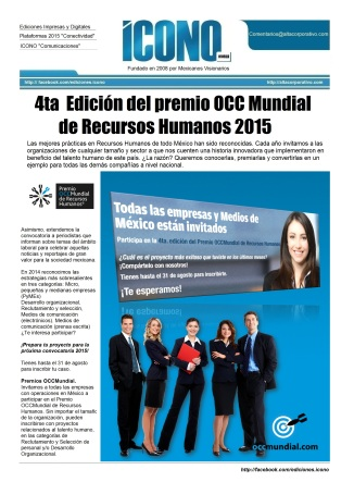 Premio OCCMundial 2015