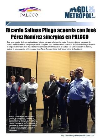 PALCCO 2015 Ricardo Salinas y José Pérez
