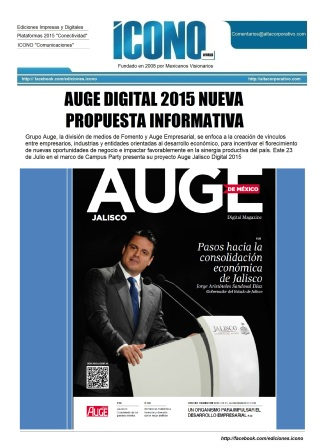 Auge Digital Jalisco 2015