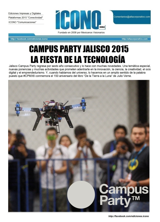 CAMPUS PARTY JALISCO 2015