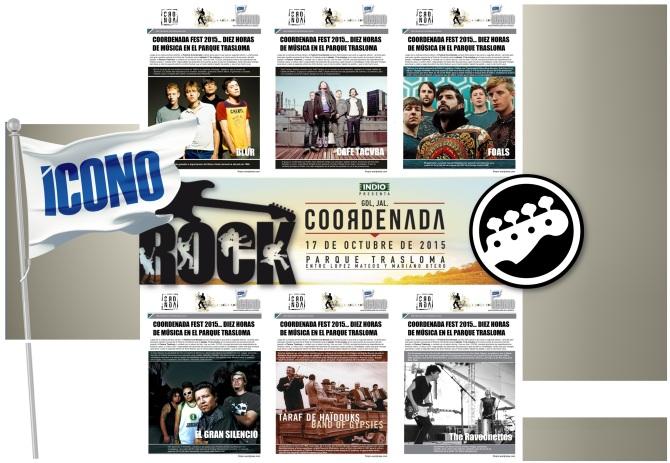 Conciertos de Rock en México en fanpages