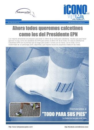 Los Calcetines de Enrique Peña Nieto