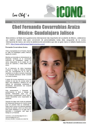 Gastronomía Internacional 2015