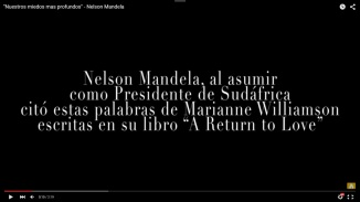 El Mensaje de Nelson Mandela