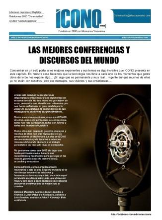 LAS MEJORES CONFERENCIAS DEL MUNDO 2015