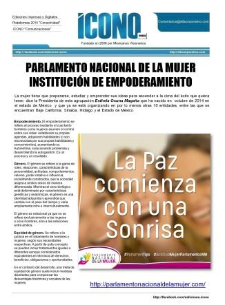 PARLAMENTO NACIONAL DE LA MUJER