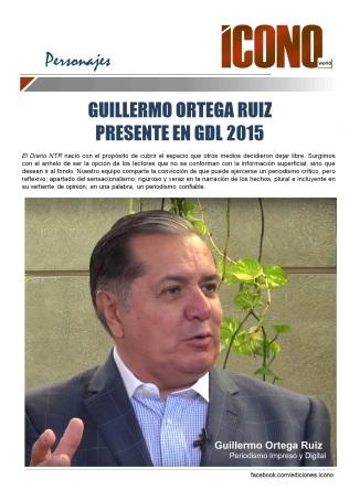 GUILLERMO ORTEGA RUIZ PRESENTE EN GDL 2015