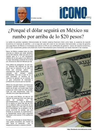 Devaluaciones en México