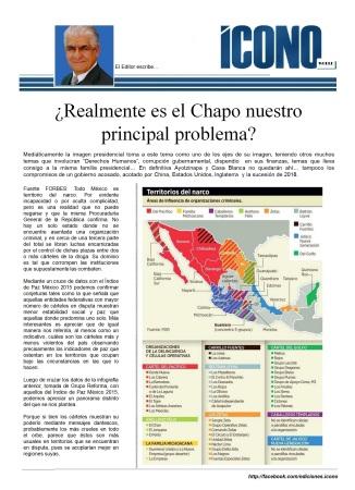 El Chapo... el emblema, la marca, el elegido