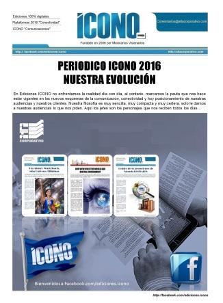 Periódico ICONO 2016