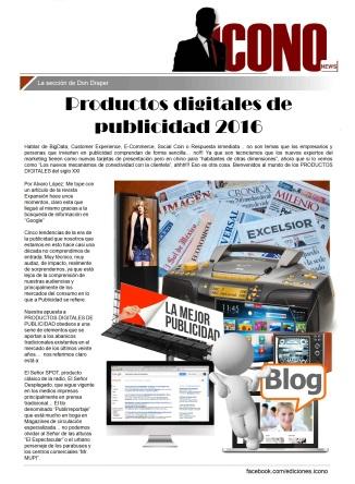 03 30 2016 Productos Digitales de Publicidad