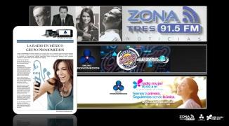 06 13 2016 La Radio en México PROMOMEDIOS COLLAGE C
