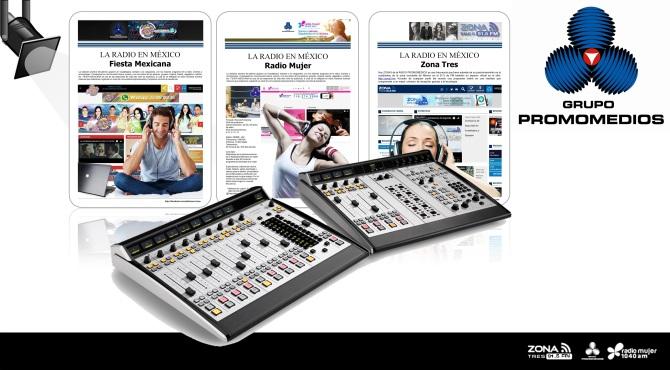 06 13 2016 La Radio en México PROMOMEDIOS COLLAGE D1