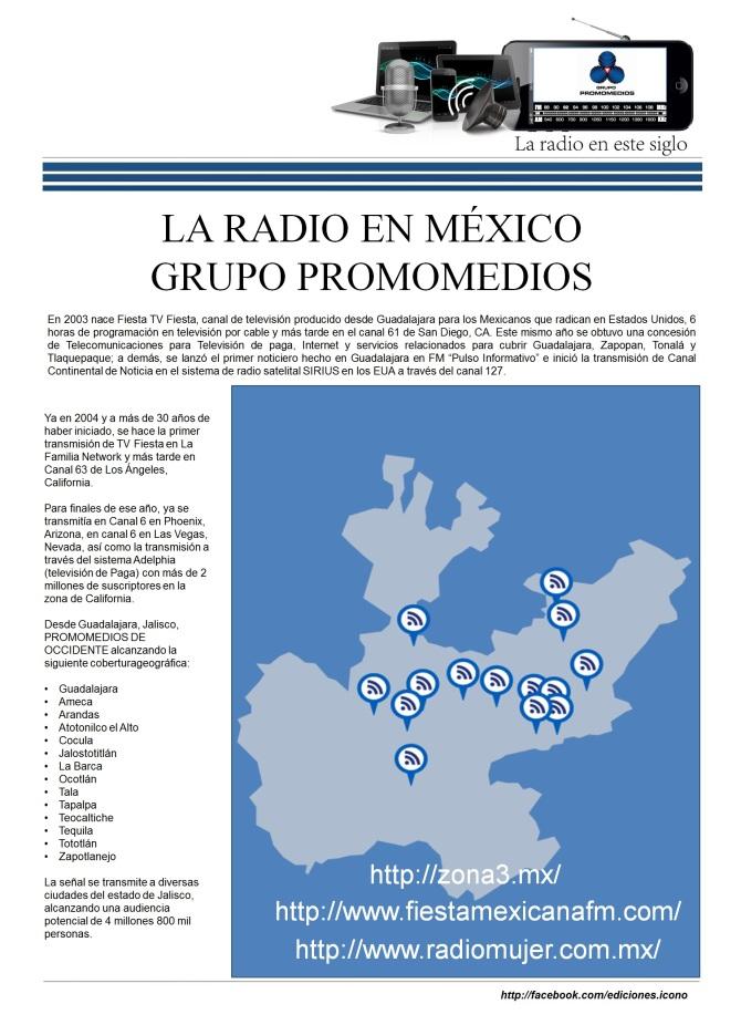 06 13 2016 La Radio en México PROMOMEDIOS3