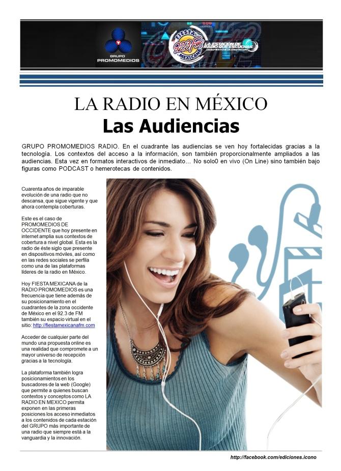 06 18 2016 La Radio en México Fiesta Mexicana
