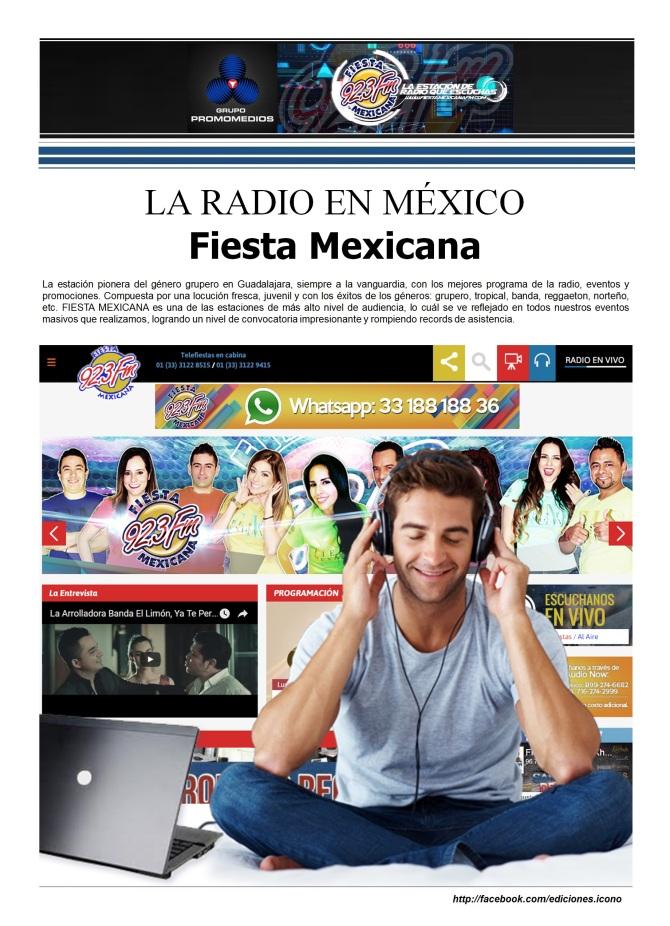 06 18 2016 La Radio en México Fiesta Mexicana2