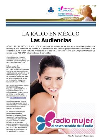 06 18 2016 La Radio en México Radio Mujer