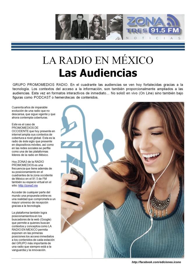06 18 2016 La Radio en México ZONA TRES